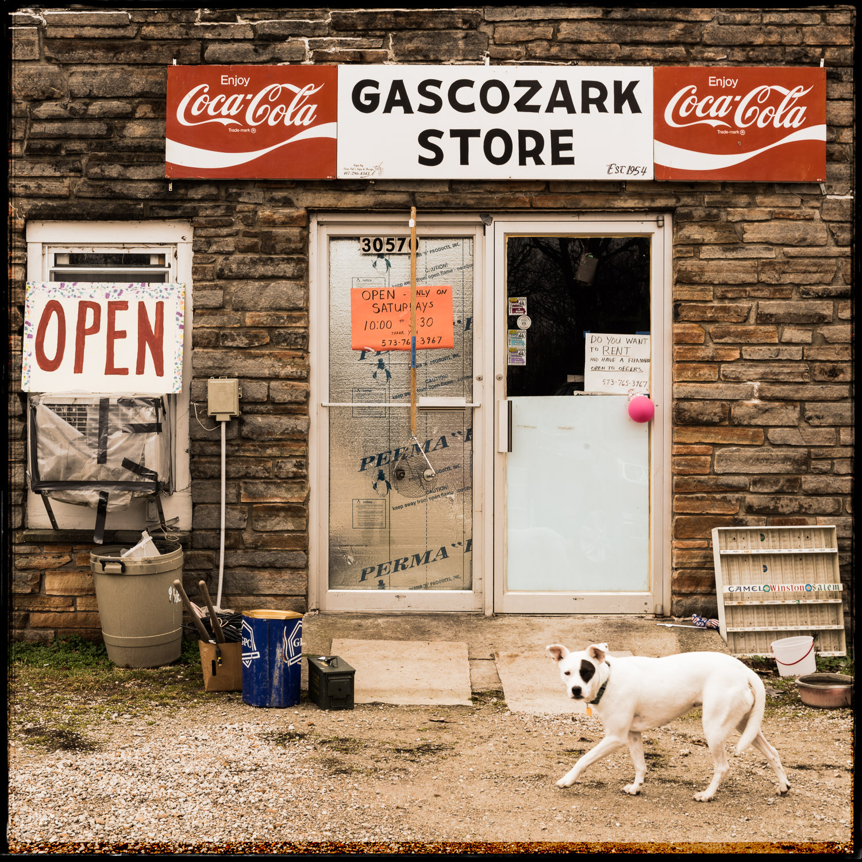 Gascozark Store and Friend