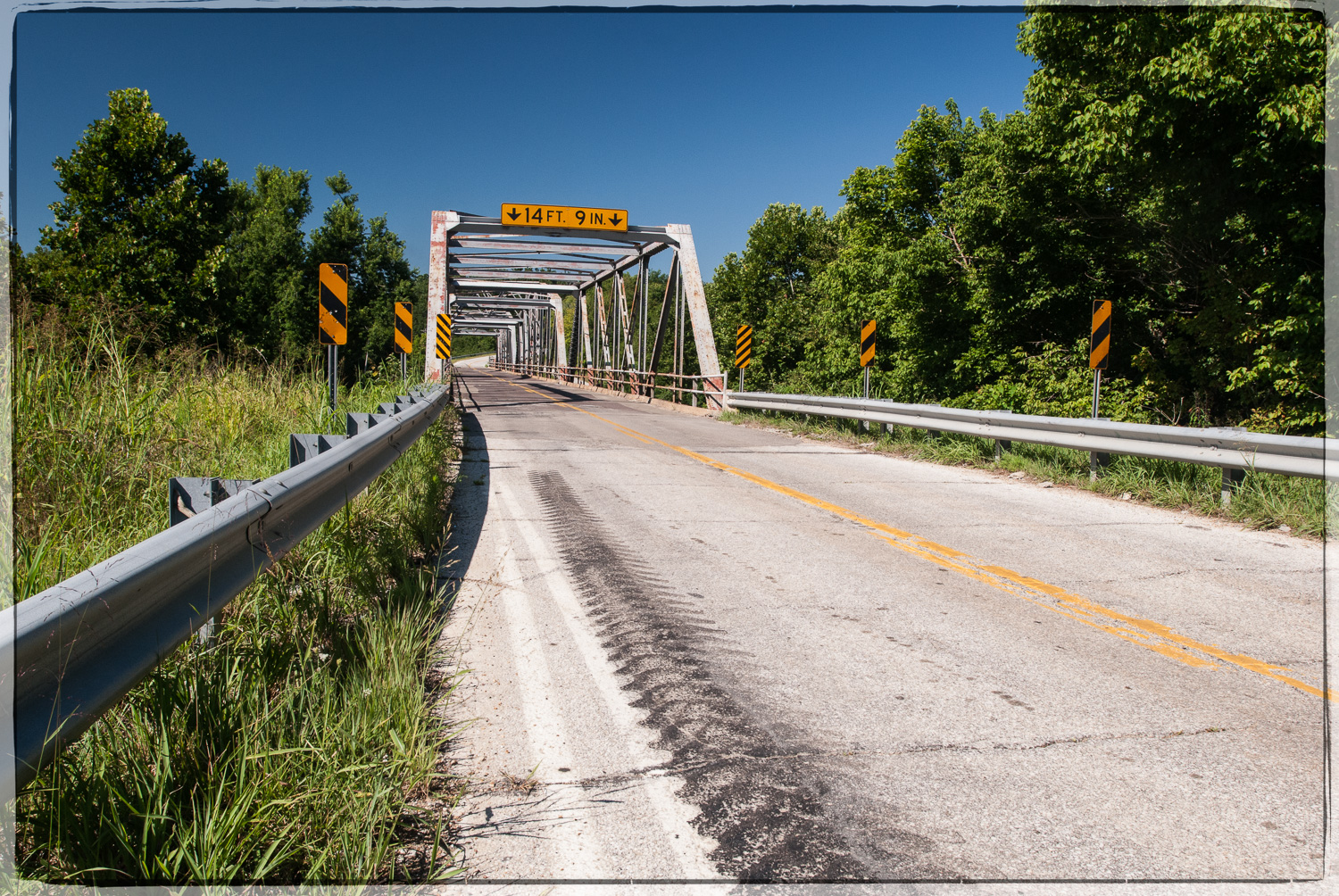 Gasconade route 66 bridge in 2008. ©Pics ON Route 66