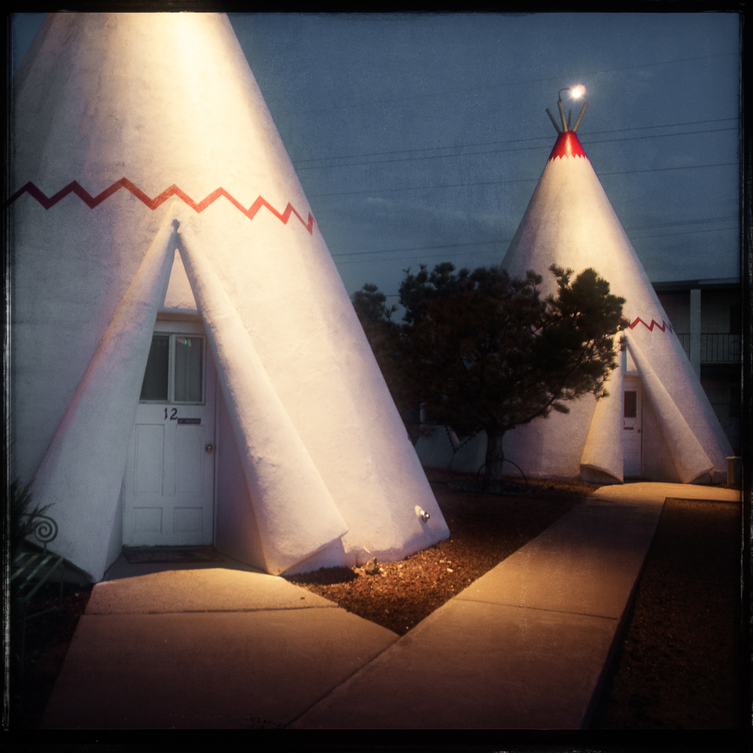 Holbrook AZWigwam Motel #6 - Village #6 of 8 developed by Frank A. Redford. Still in the hands of the original owners The Lewis family. Fantastic photo ops with the vintage car collection that is parked around this historic property. If you haven't slept in a wigwam, don't you think it's time?-David Schwartz811 West Hopi Dr.(928) 524 3048 Website