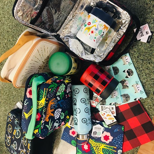 We still have GREAT LUNCHBOXES, thermoses and reusable snack bags in stock! #backtoschool #shoplocal #schoolsupplies #berkshiresma #thechefsshop