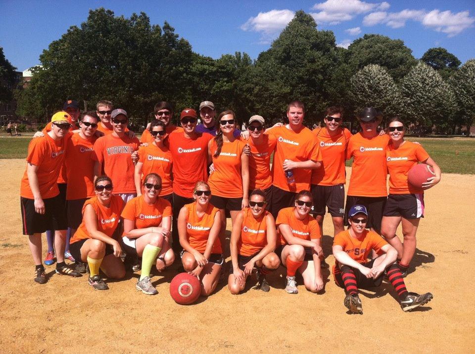 Photo: Jess' Kickball Team 2012