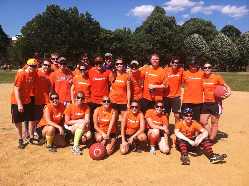 Photo: Jess' Kickball Team 2012