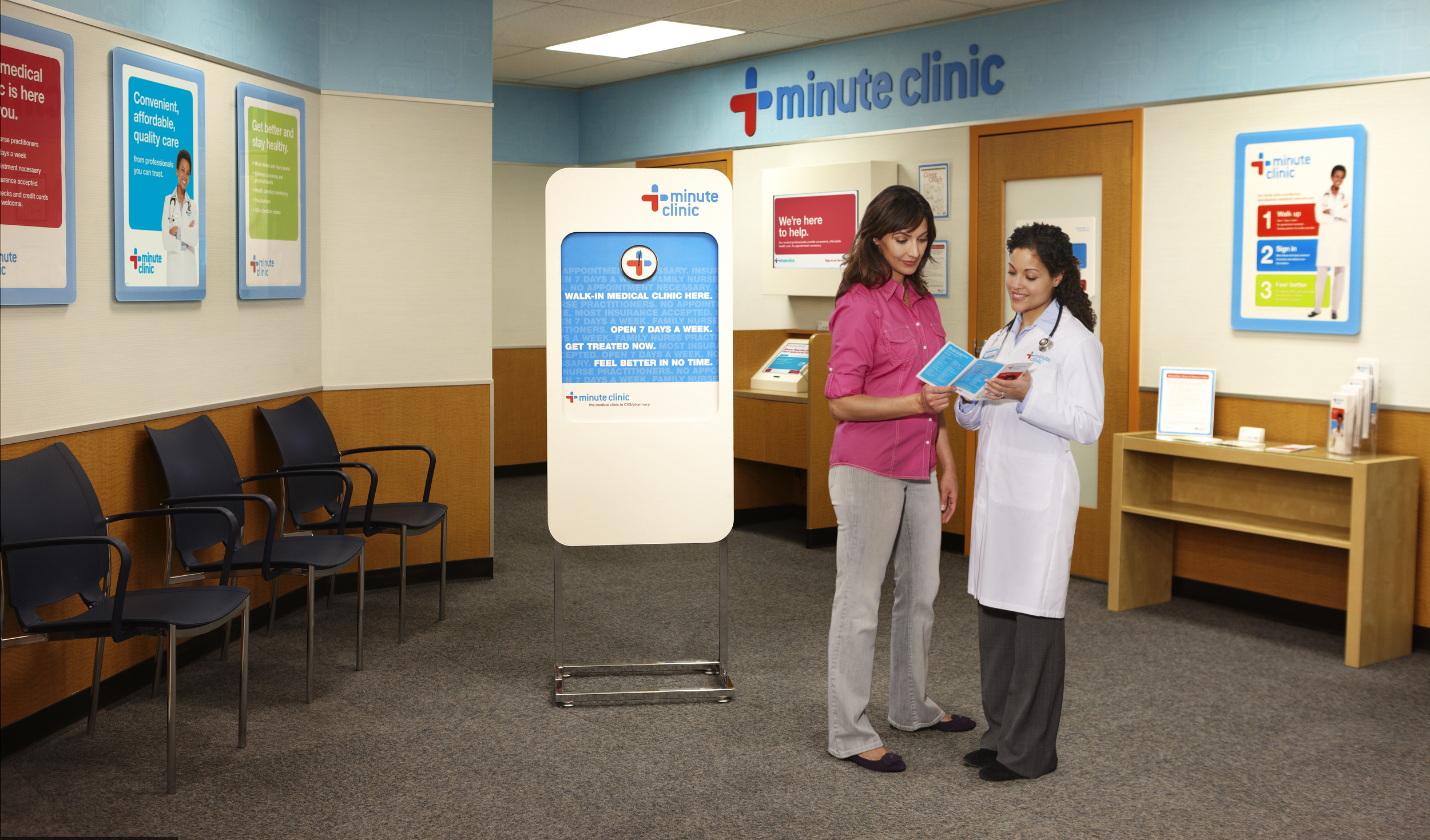 Photo: Minute Clinic, Rockford Register Star 2011