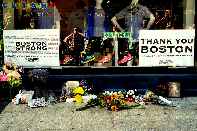 Photo: Boston Strong, Flickr Creative Commons