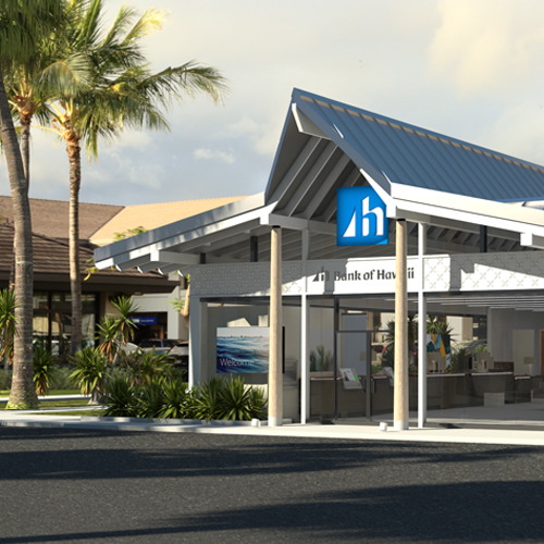 Bank of Hawaii New Branch Concept