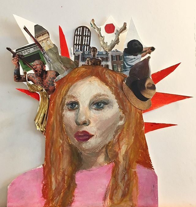 Finished art piece by our talented and super creative student @lena.loves.cats 🗽❤️🗽 . . . . #collage_art  #pasteldrawing #bayridgeartspace #ilovedrawing #bayridge #bayridgeart  #privatelesson #drawing #makingart #artclass #paintingclass #brooklynart #bayridgeartspace #artclasses #wip #artsharing #paintingprocess #paintingprogress #arts_help