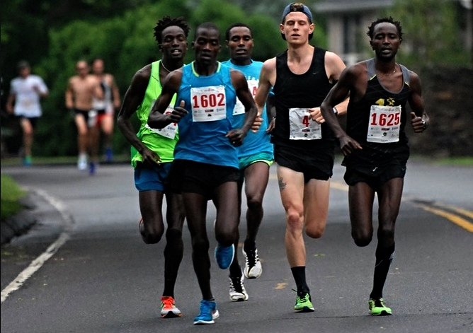 i'm the white guy. i got 5th in this race.