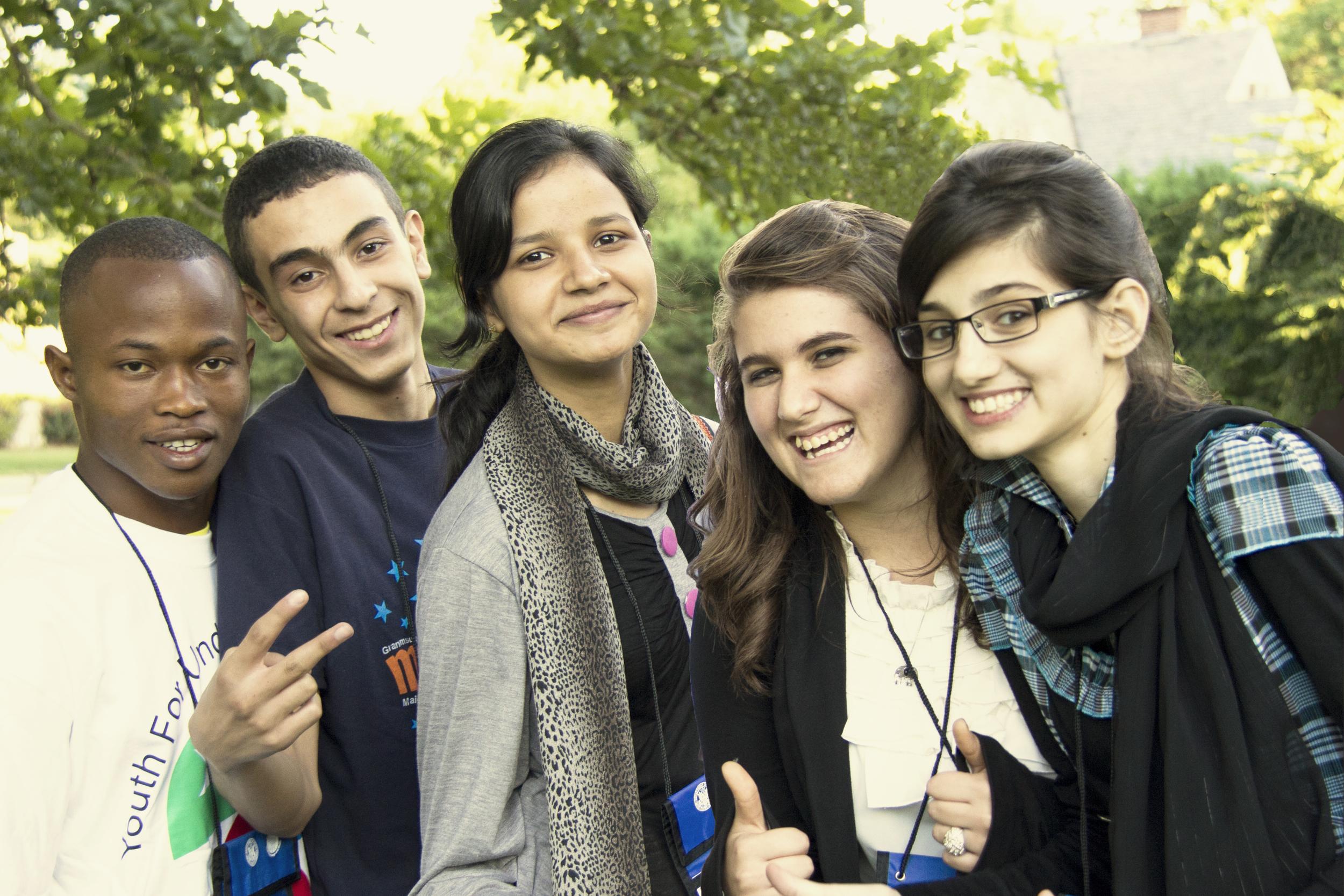 YFU YES Students