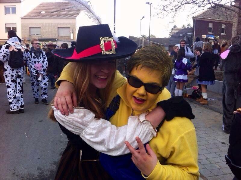 Celebrating the crazy February Karneval festivities. Prost!