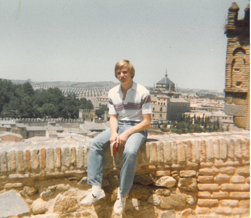 Weinert in Spain in 1980