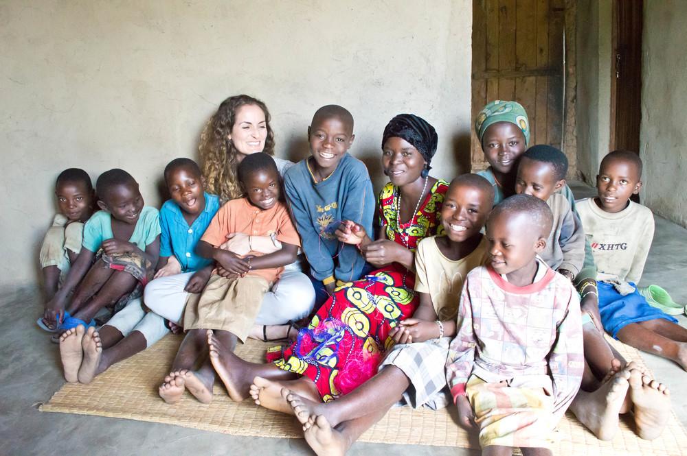 Coleman in Rwanda in 2014 (photo taken by Betty Krenek)
