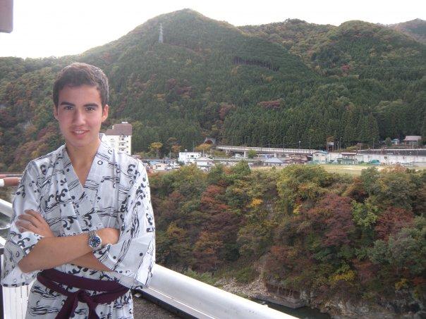 Micah Putnam in Japan in 2009