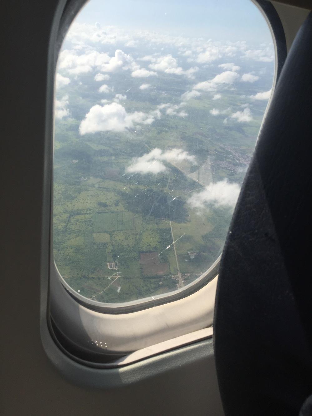 Approaching Cuba