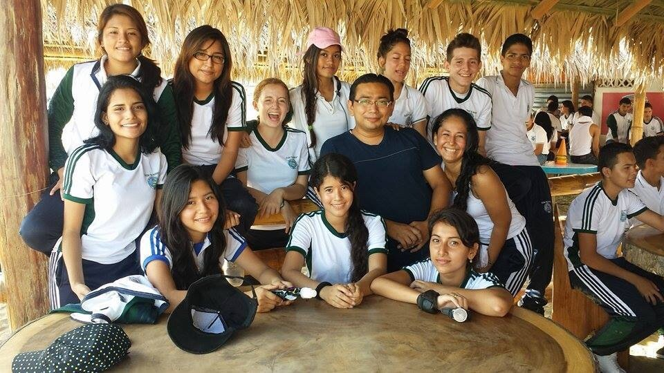 Manta, Ecuador is located directly on the beach and el Colegio del Pacifico, my school, was a ten minute walk away. One day the juniors and seniors took a field trip down to one of the beaches to do athletic activities.