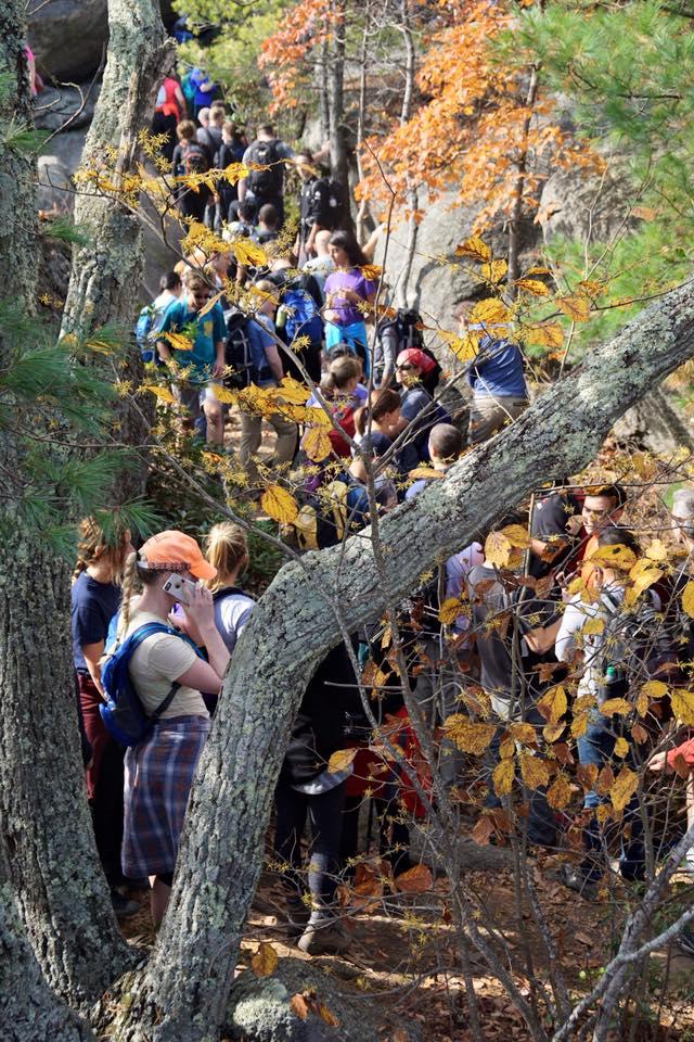 Image via John Geracimos ,  Shenandoah National Park Hikers Group