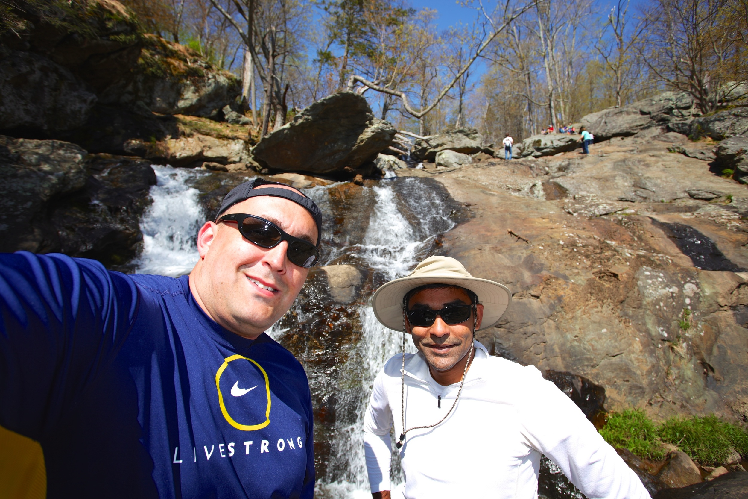 Hiking with Amit, Spring 2013.