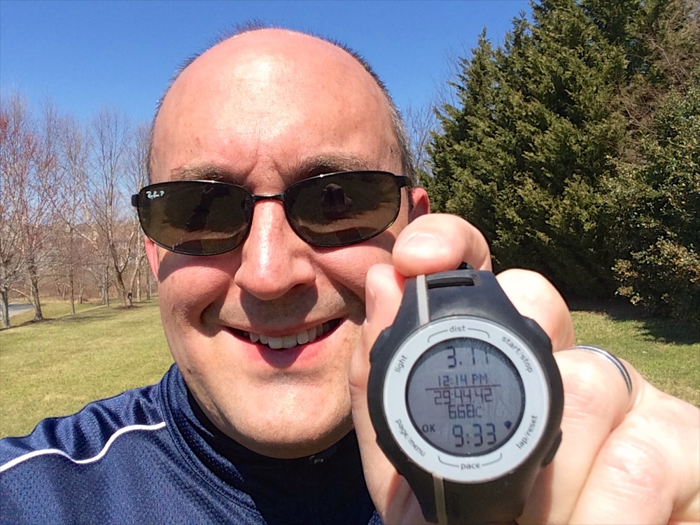 It took me over two years fighting chronic post-cancer treatment muscle fatigue issues to finally be able to run a 5K in under 30 minutes. I was so happy when I was finally able to do it that I cried.