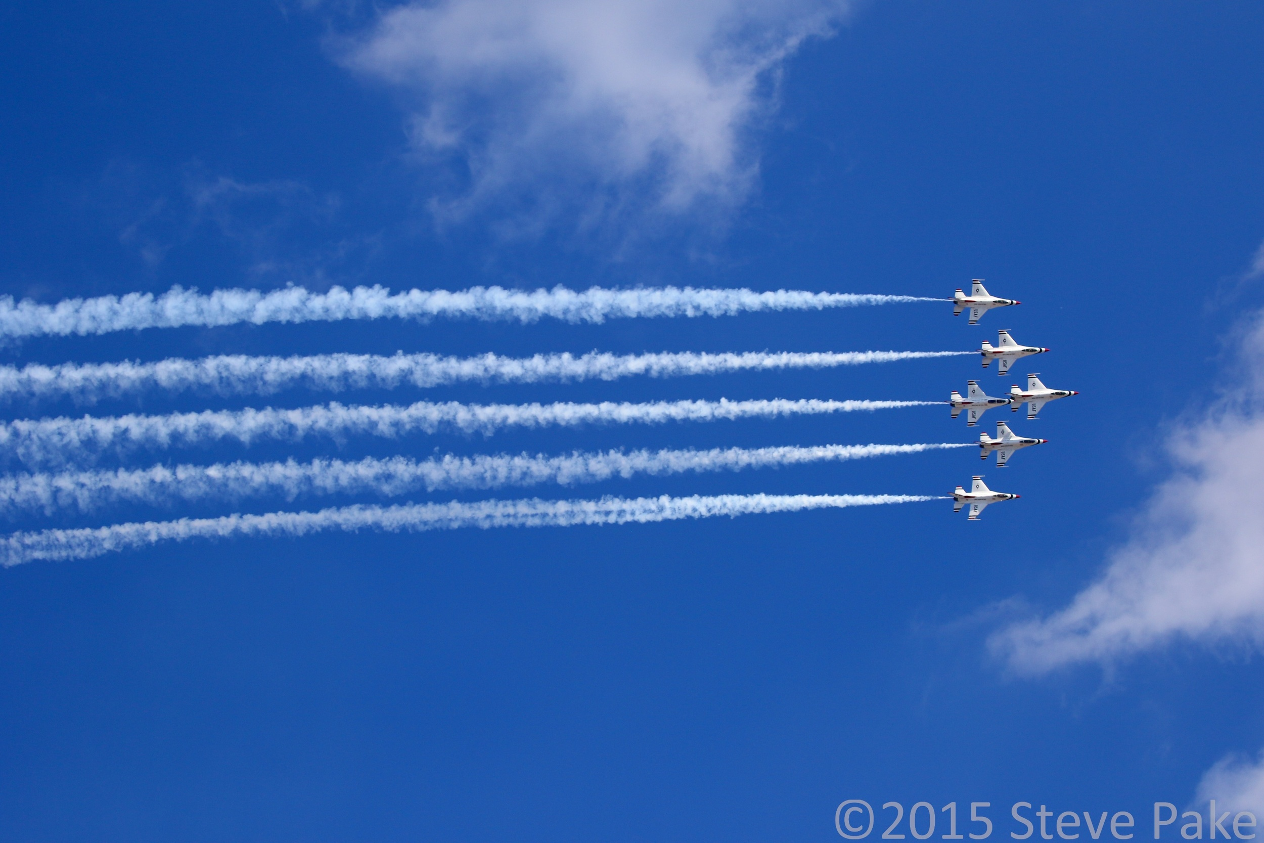 Joint Base Andrews Air Show 2015, Thunderbirds Aerial Demonstration,Canon 7D Mark II and 100-400mm lens