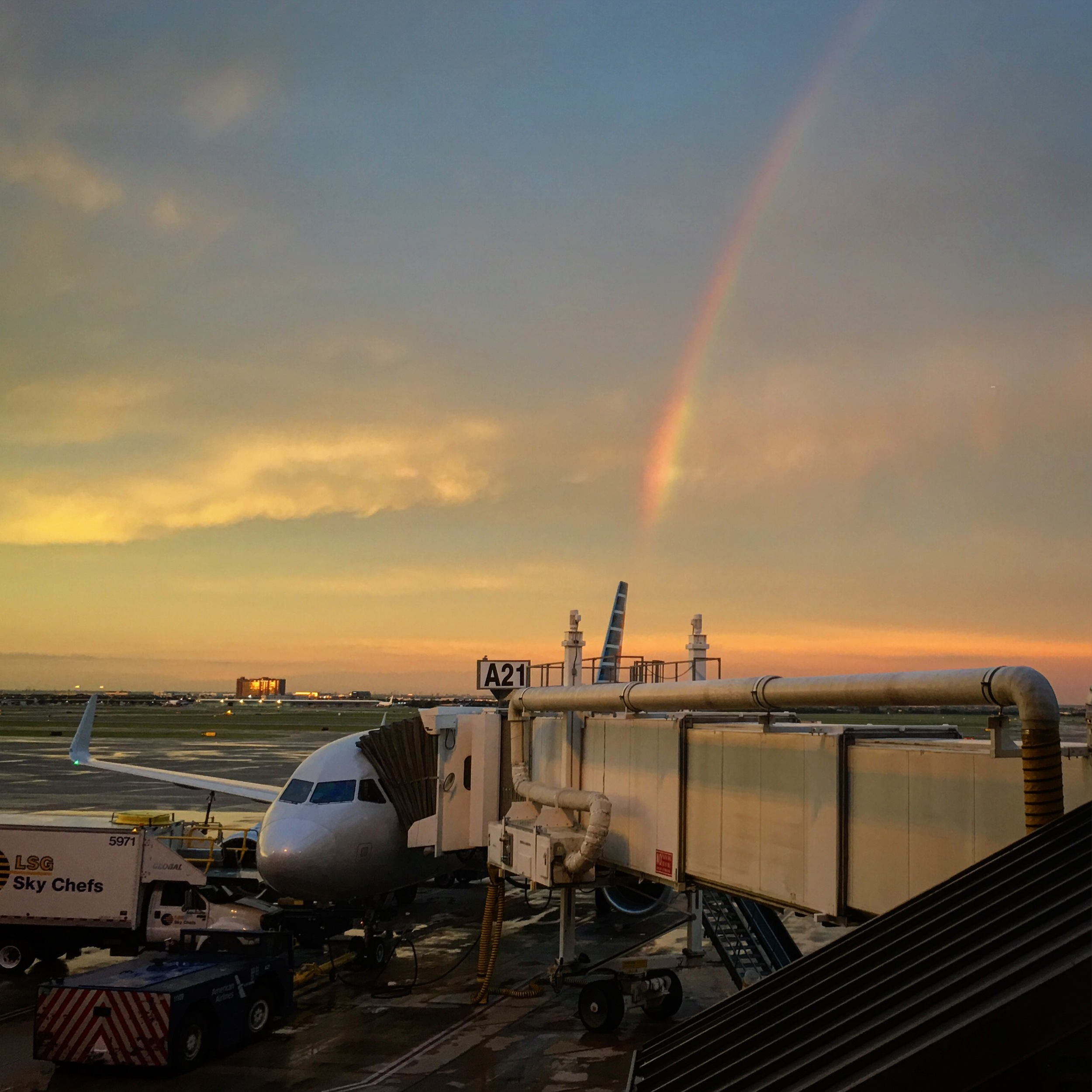 Returning home from Jordan's Celebration of Life, yet another rainbow greeted me in DFW on July 9th, 2016. All it took was meeting Jordan once to know that everything that everyone had said about him was true. I wish I could have known him better, but I'll always cherish the one time that we were able to meet and connect. Fly high, Scorpio, and keep shining.