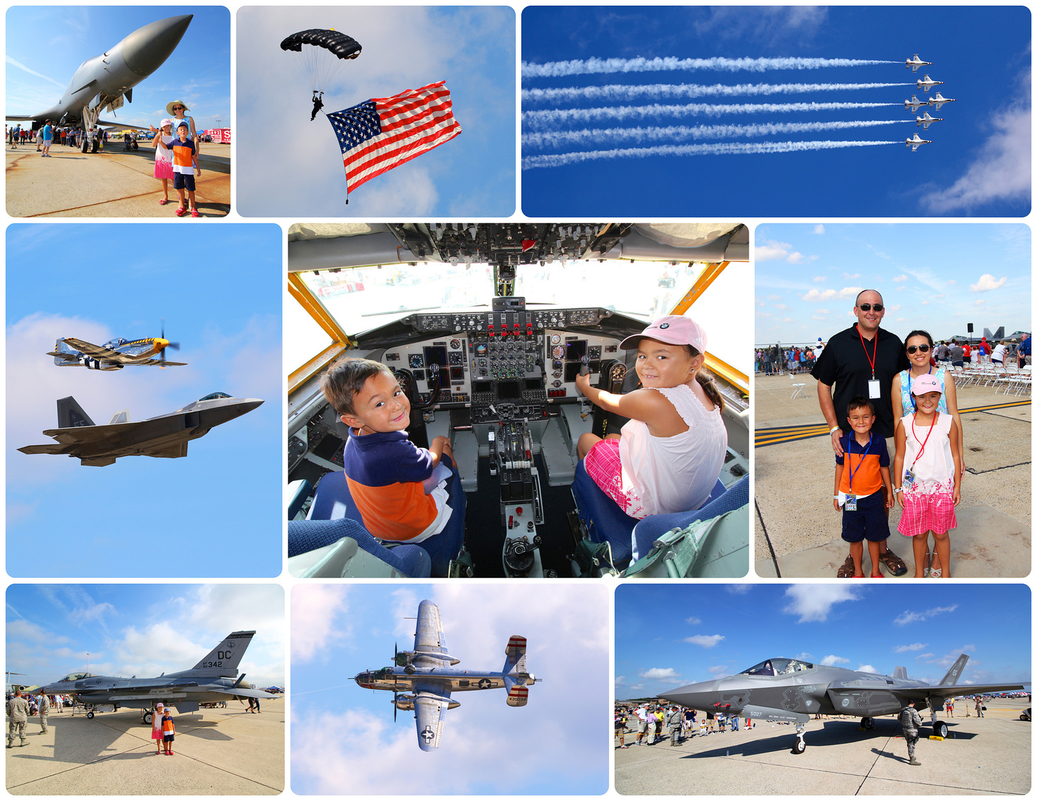 Joint Base Andrews Air Show 2015, click the photo for the blog.