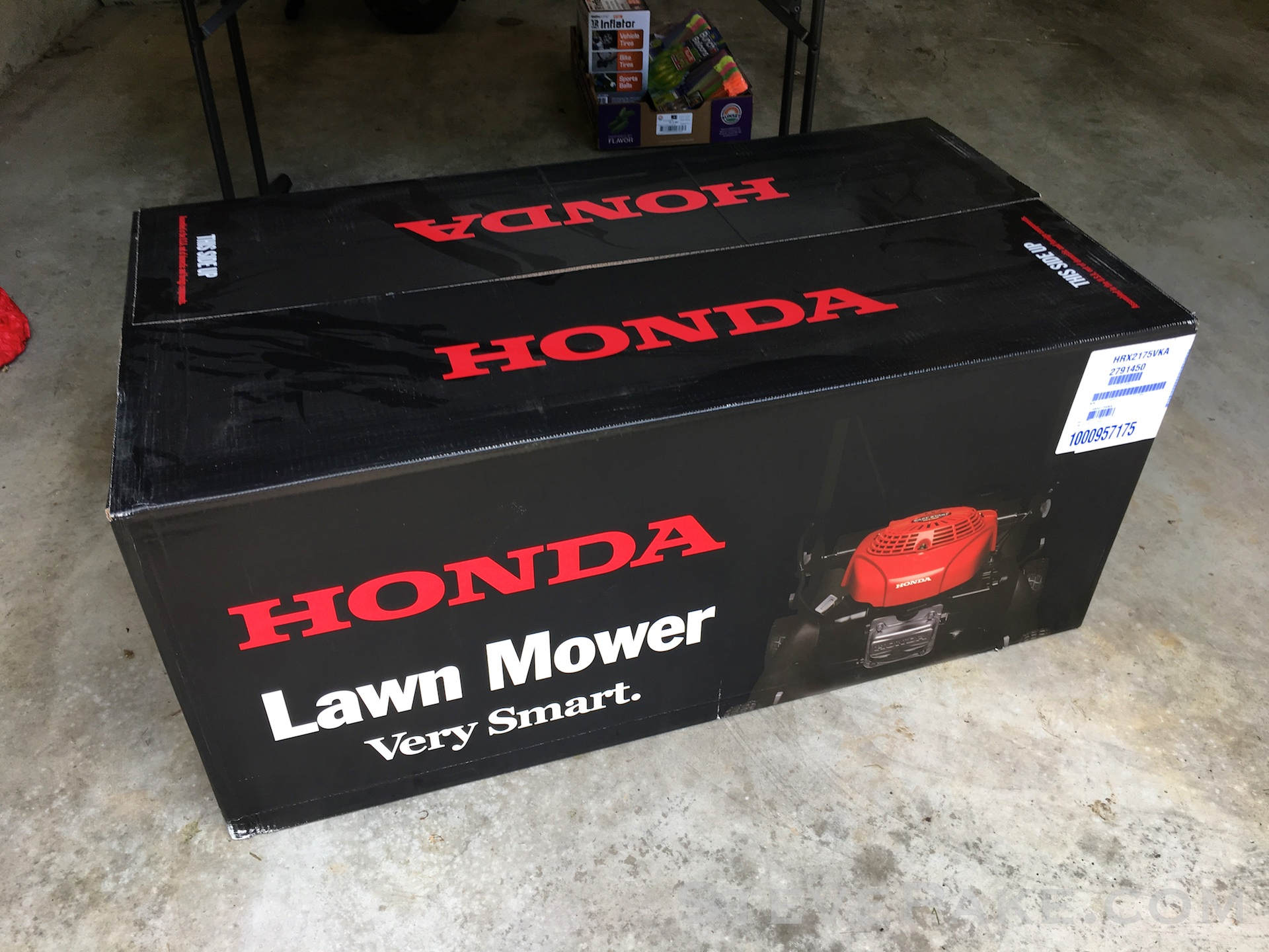 Honda Lawn Mower. Yup, very smart not lying out their asses about their specs or performance like so many other manufacturers!