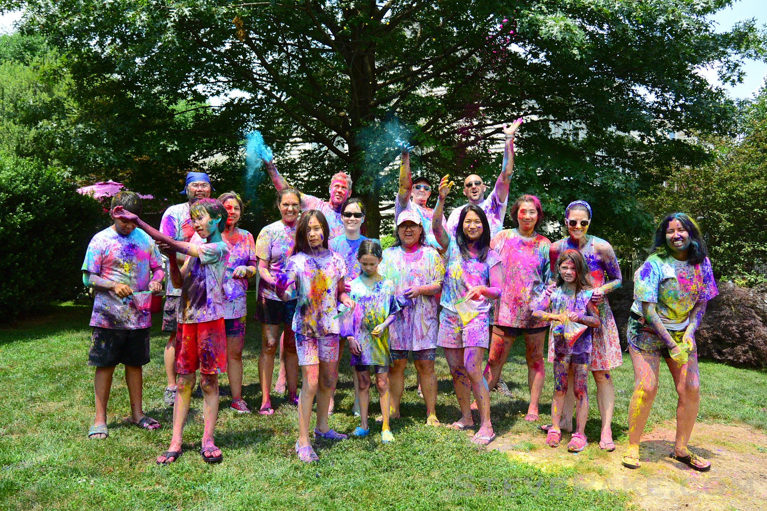 Summer Kickoff Color Party 2018
