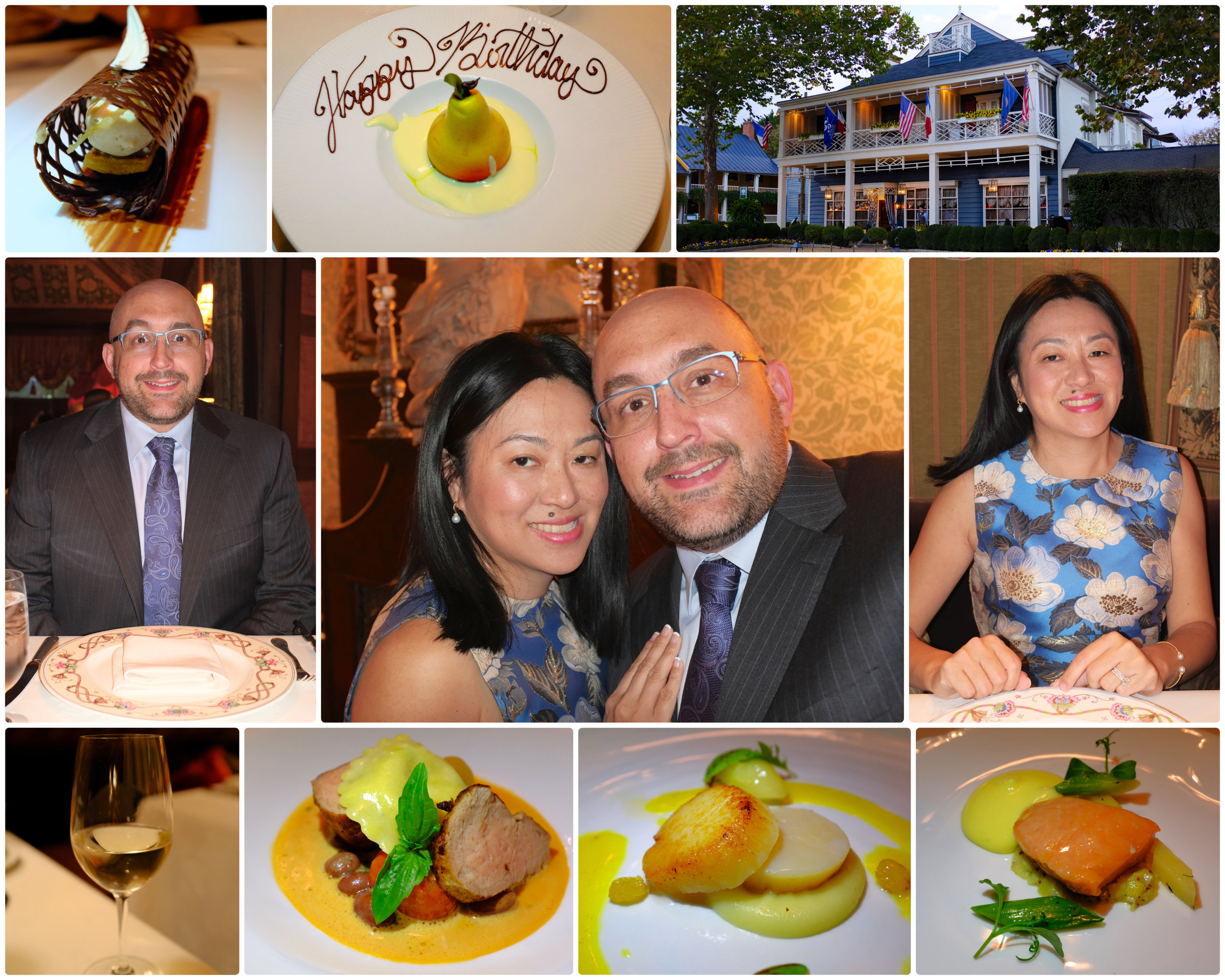 Our most recent trip to The Inn at Little Washington on October 27th, 2018 for my 41st birthday, and our first time at The Inn as a THREE Michelin Star establishment. Click the photo to go directly to the photo album.