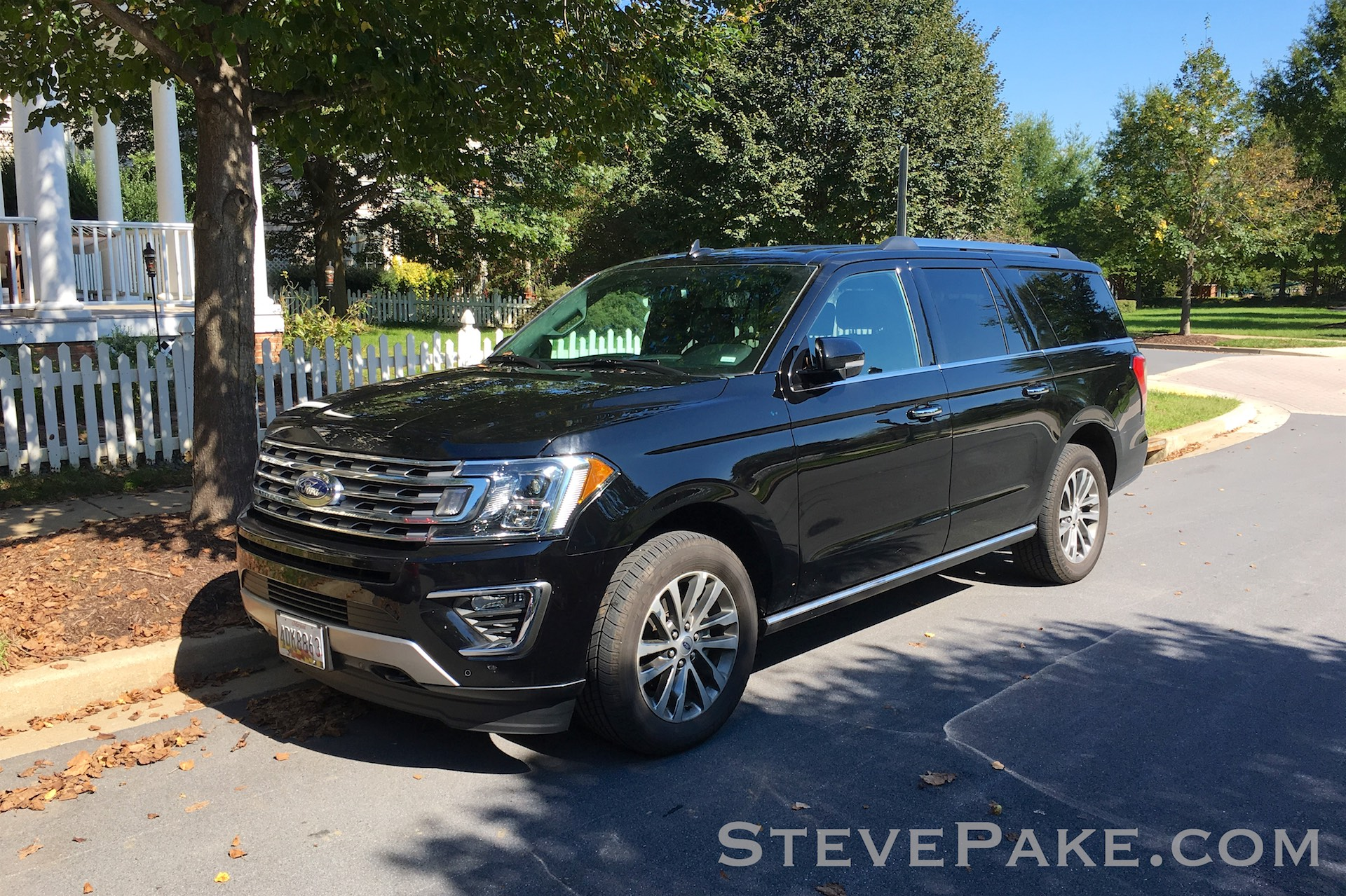 """A rental """"Chevy Suburban or equivalent"""" 2018 Ford Expedition Max."""