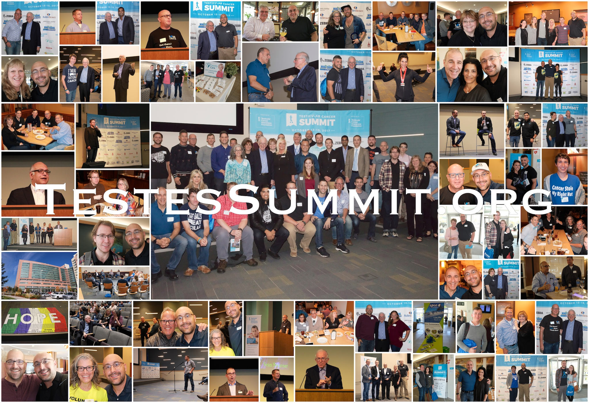 I'm very proud of everyone who helped make the original Testicular Cancer Summit of 2017 happen.