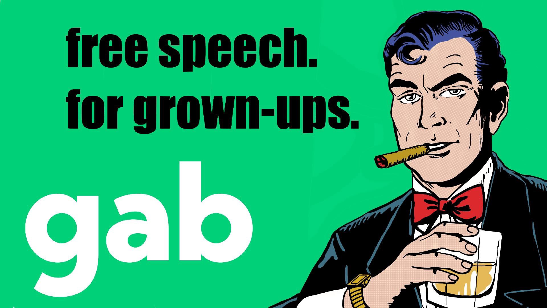 This is a Gab propaganda advert, but it's highly effective and resonates with me because yes,  WE'RE TIRED OF BEING TREATED LIKE CHILDREN!