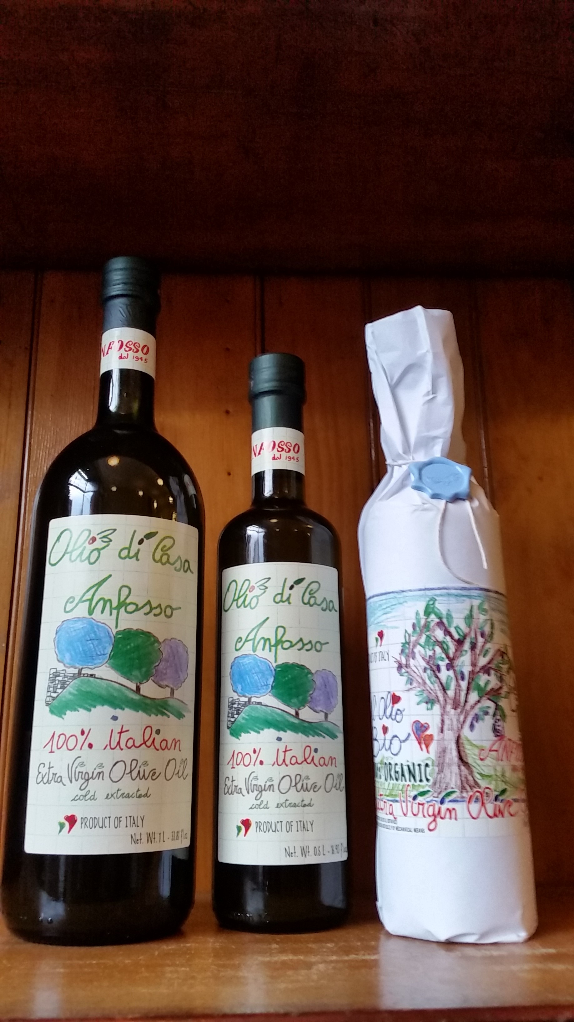 Extravergin olive oil from Ligurian region  by Anfosso