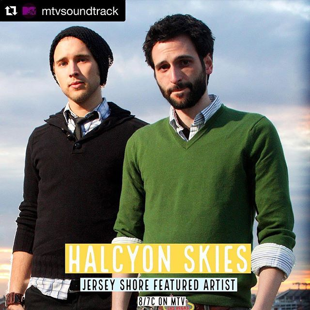 "#Repost @mtvsoundtrack ・・・ Catch the #SeasonFinale of @jerseyshore tonight on @mtv 🎶 Music by @halcyonskiesmusic and more! LINK IN BIO 💥 ・・・ Check out our track ""Home"" featured in the finale of #jerseyshore!"