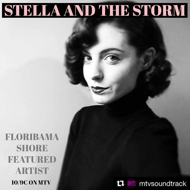 "If you tuned in to @floribamashore last night you would have heard ""Work It Out"" by @stellaandthestorm !!#Repost @mtvsoundtrack ・・・ Music by @stellaandthestorm is featured on tonight's new episode of @floribamashore 🏖 LINK IN BIO 💥 #MTV #Floribama #sunstonerecordings #makemusicmakemoney"