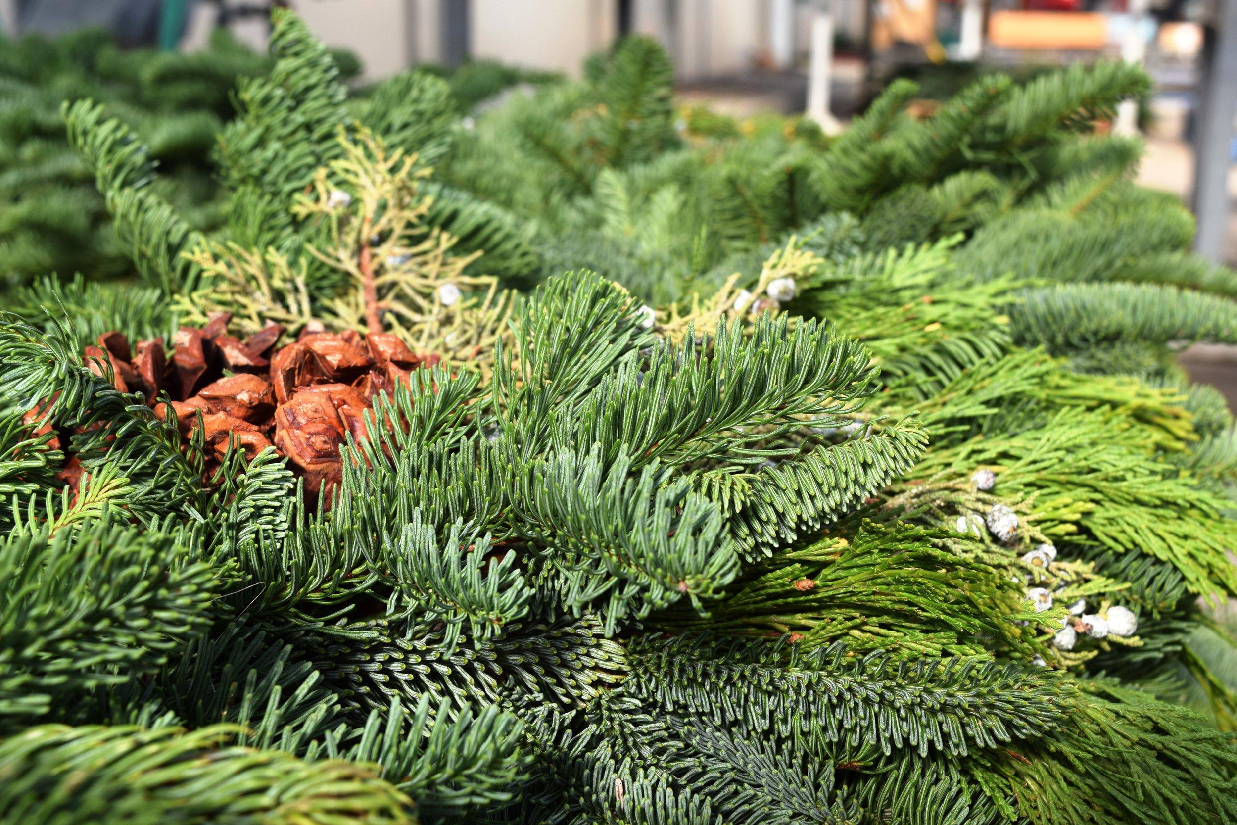 Mixed Wreath Detail
