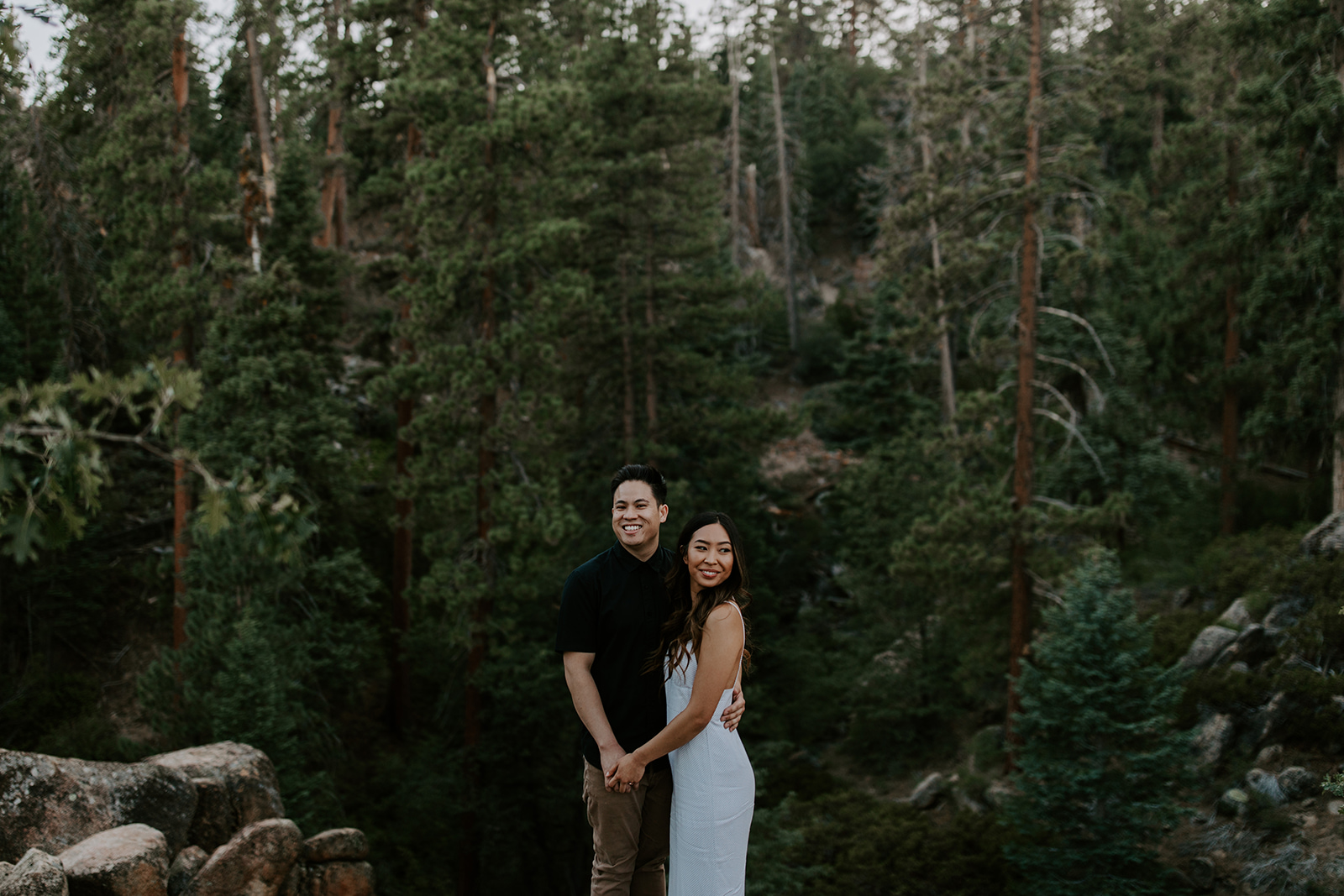 jennie + Gav | big bear, california -