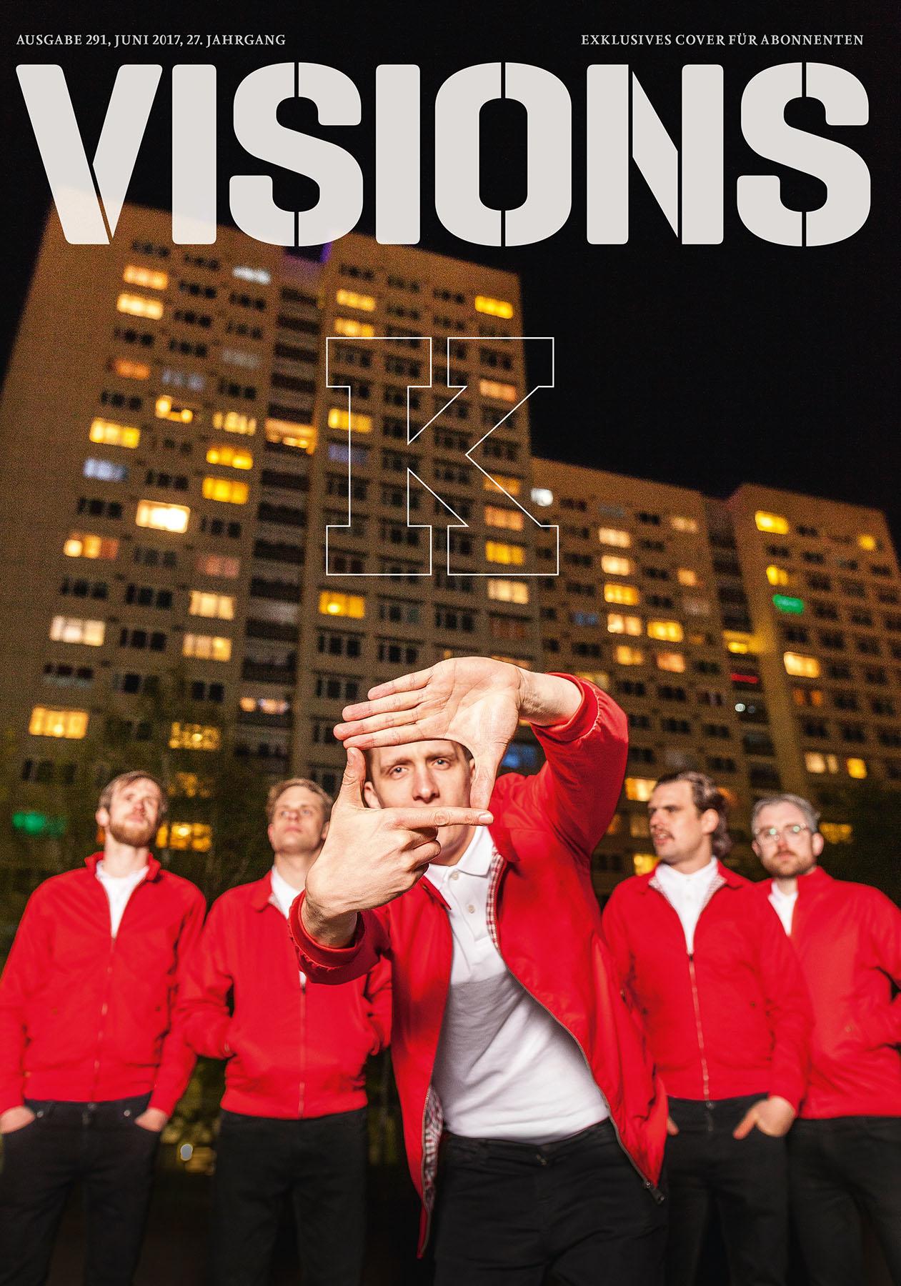 Kraftklub, Visions Cover