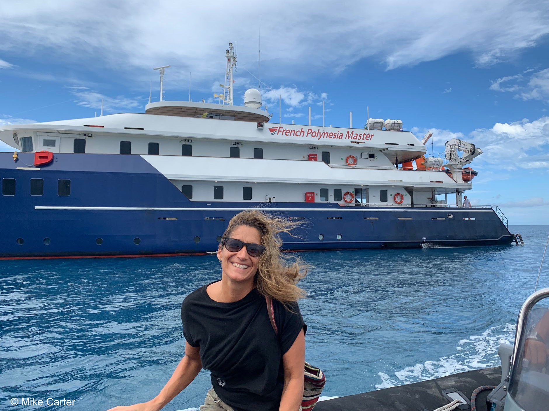 Francesca Diaco is a professional underwater photographer and the owner and operator of Fisheye Expeditions. She looks forward to welcoming you on an upcoming adventure!