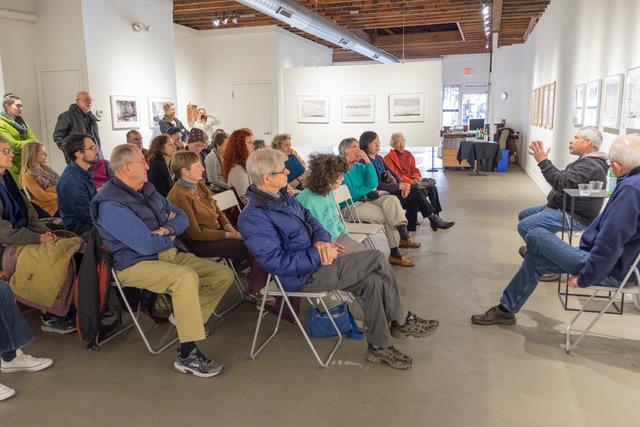 Roy Money and Brian Flinn discuss their exhibitions.