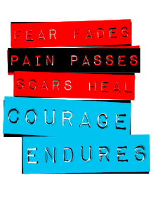 Learn more about the COURAGEndures Approach, our Experiences, Programs, and how we can help you.