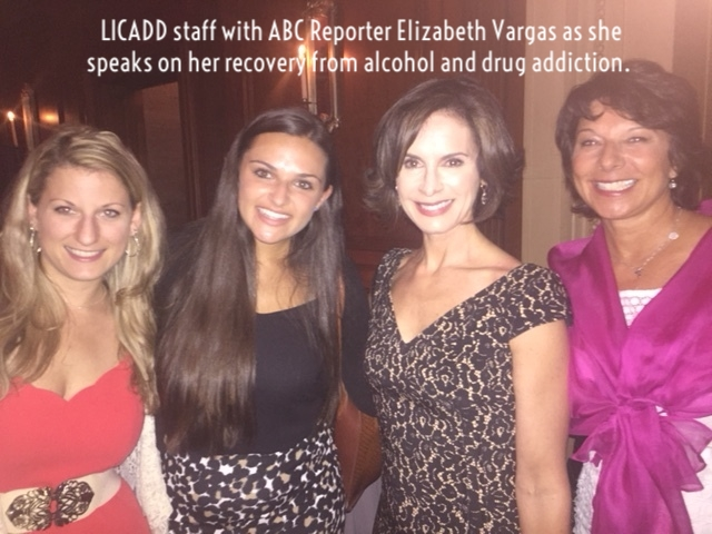 Newscaster, Elizabeth Vargas speaks on her addiction to alcohol and drugs and her recovery!