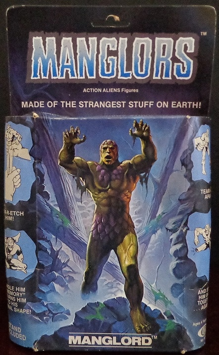 Behold the box for Manglord! This was the first Manglor figure I got.