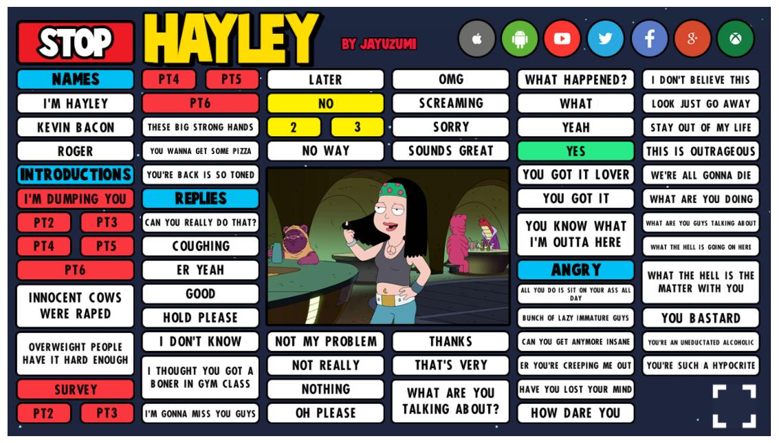 Hayley soundboard previiew