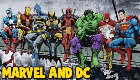 Marvel and DC soundboards