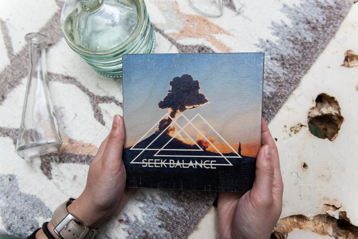 Seek Balance   Cholula, Mexico    6x6 printed directly on 3/4'' birchwood, UV coating developed, printed and hand crafted in the USA