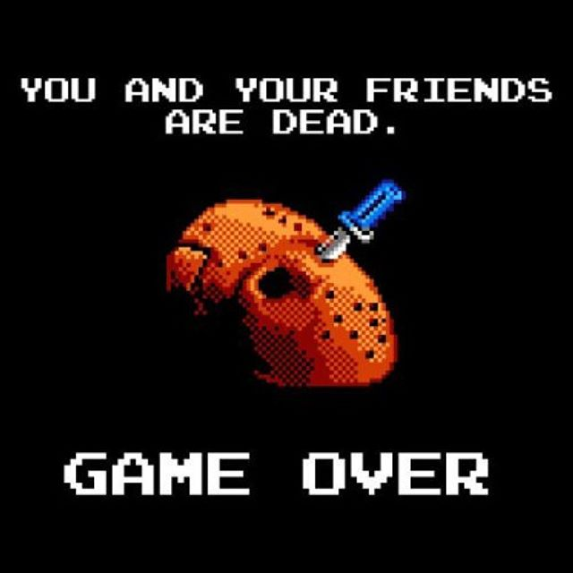 #horror #8bit #jason #fridaythe13th