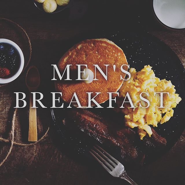 Fellas! Don't forget, Men's Breakfast TOMORROW MORNING | 6:30-8:00AM in the PLEX. We are doing scrambled eggs and sausage (right here on the grill!) and will have fruit and bagels if you don't want the hot, fresh, goodness from the grill. #justsayin