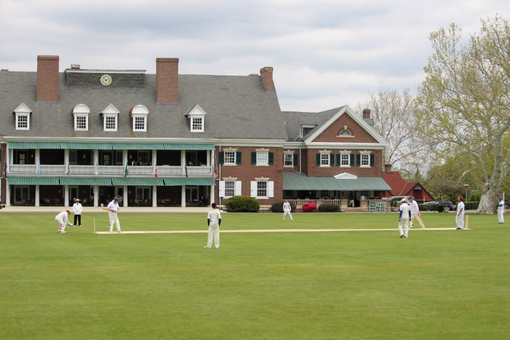 The Germantown Cricket Club, founded in 1854, is one of the venues for the annual Philadelphia International Cricket Festival. (Photo by Ewart Rouse. All rights reserved).