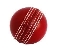 A cricket ball.