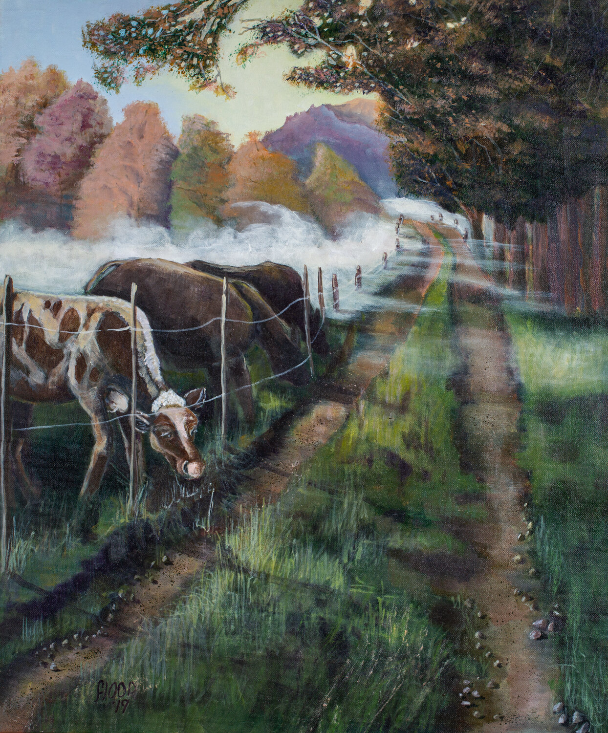 The Grass is Always Greener, by Claudia Flood