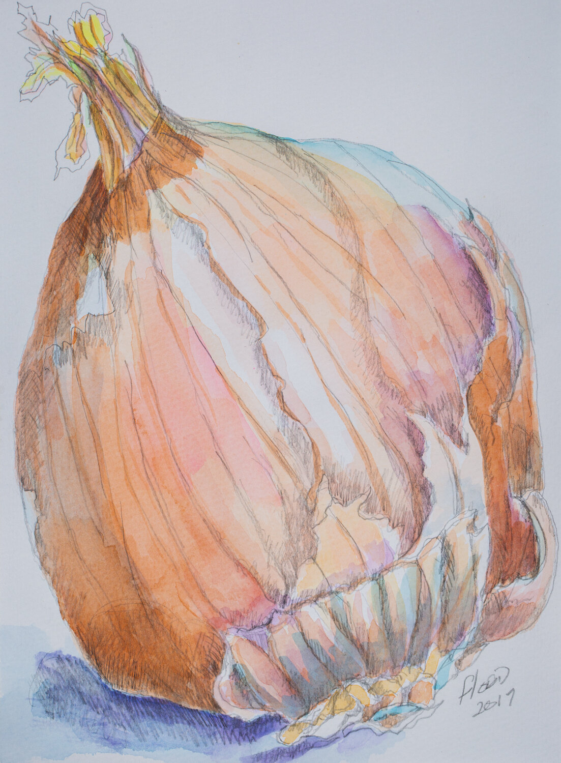 Clarence the Onion, by Claudia Flood
